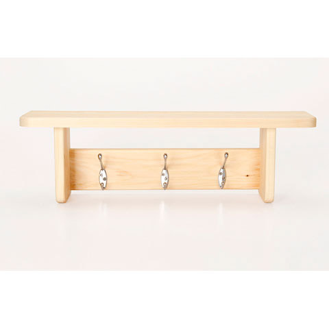 unfinished wood wall shelves rebrilliant item ww13188 other unfinished wood wall hooks shelf with hangers decor home