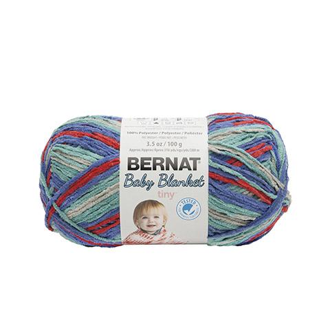 Bernat Baby Blanket Calico Quilt Tiny Yarn