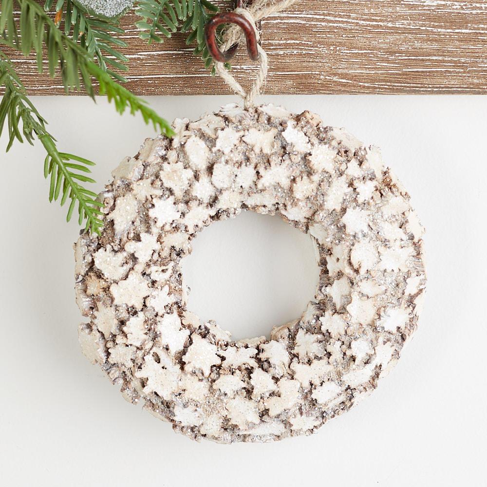 Rustic Wood Star Wreath
