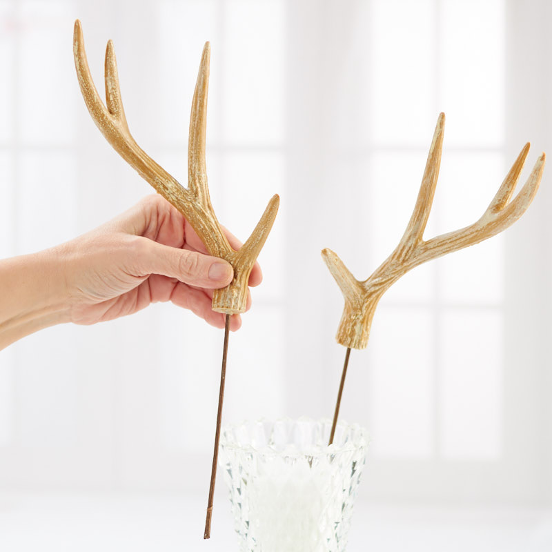 Christmas Tree Made Of Deer Antlers: Faux Natural Deer Antler Pick