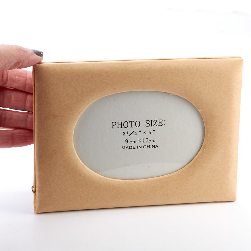Oval Paper Mache Photo Frame Paper Mache Basic Craft
