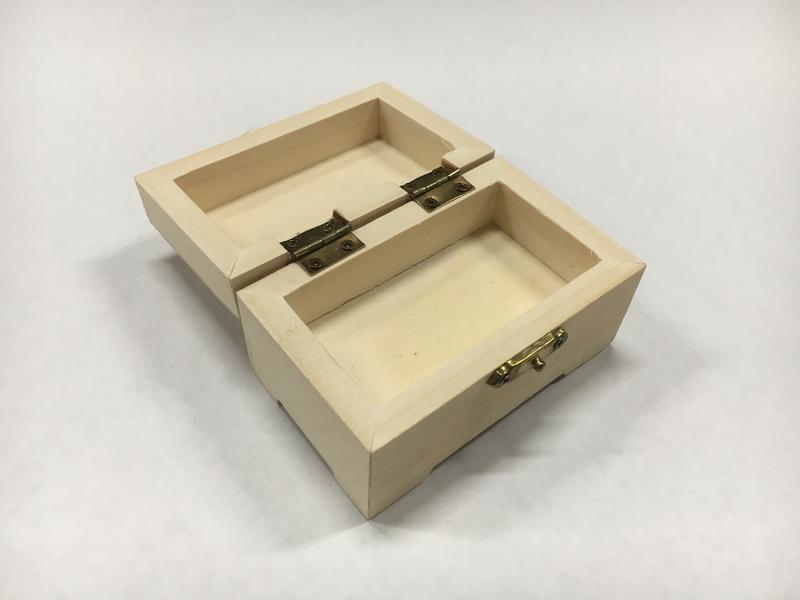 Unfinished Wood Treasure Chest Box Crates Amp Boxes Wood