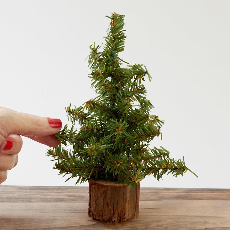 "7"" Small Artificial Pine Christmas Tree - True Vintage ..."