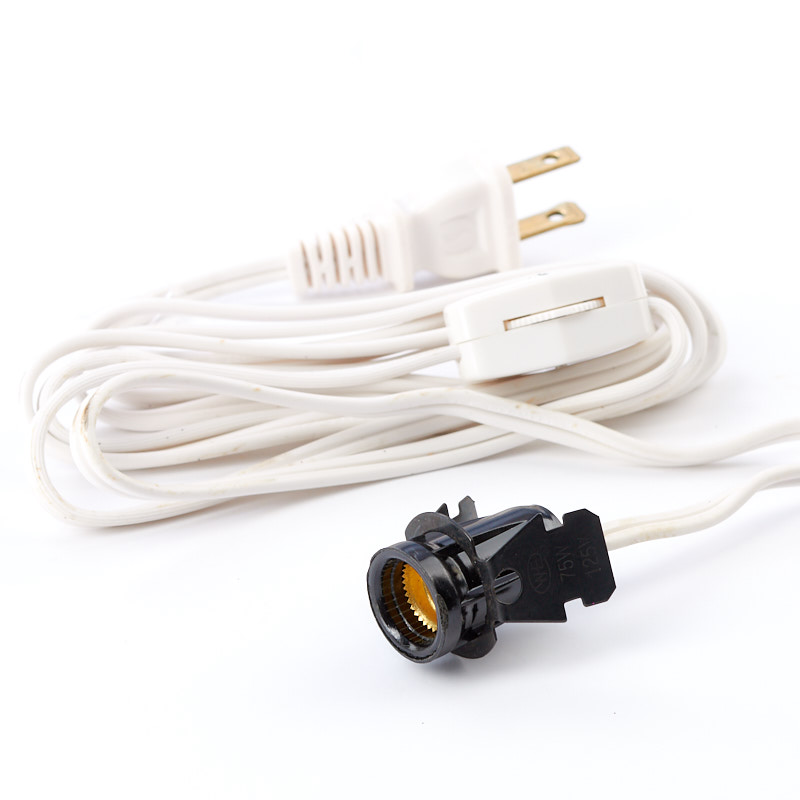 Fine Electrical Lamp Cord With Switch And Clip In Socket Lamp Making Wiring Digital Resources Inamapmognl