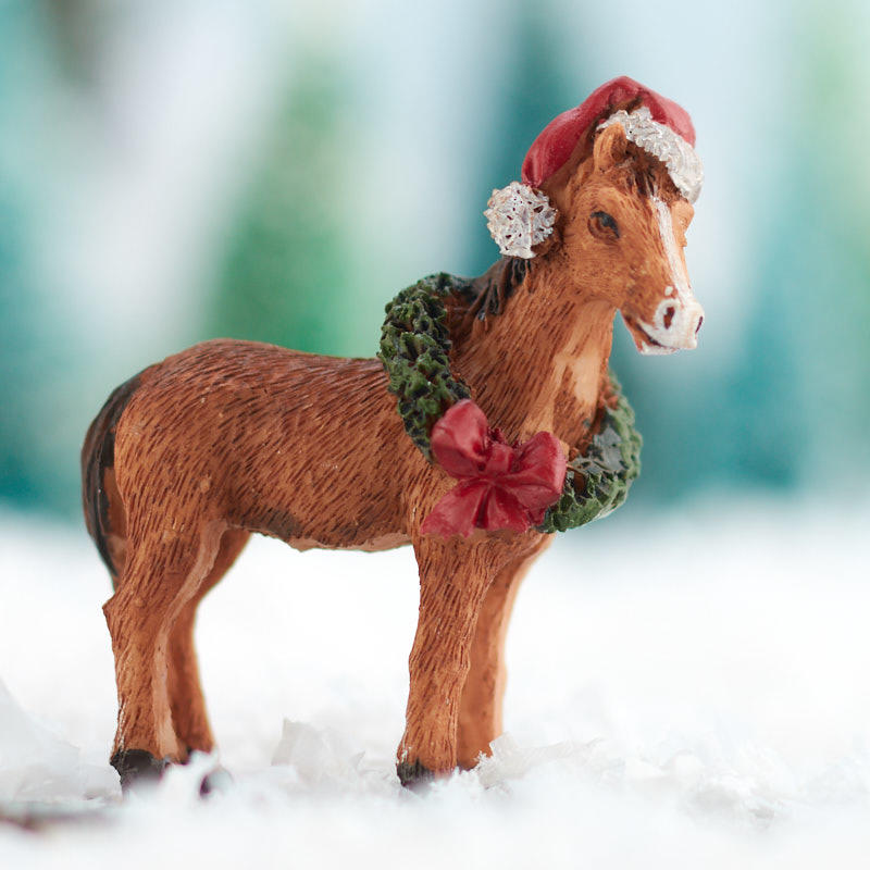 Christmas Horse Pictures.Miniature Christmas Horse