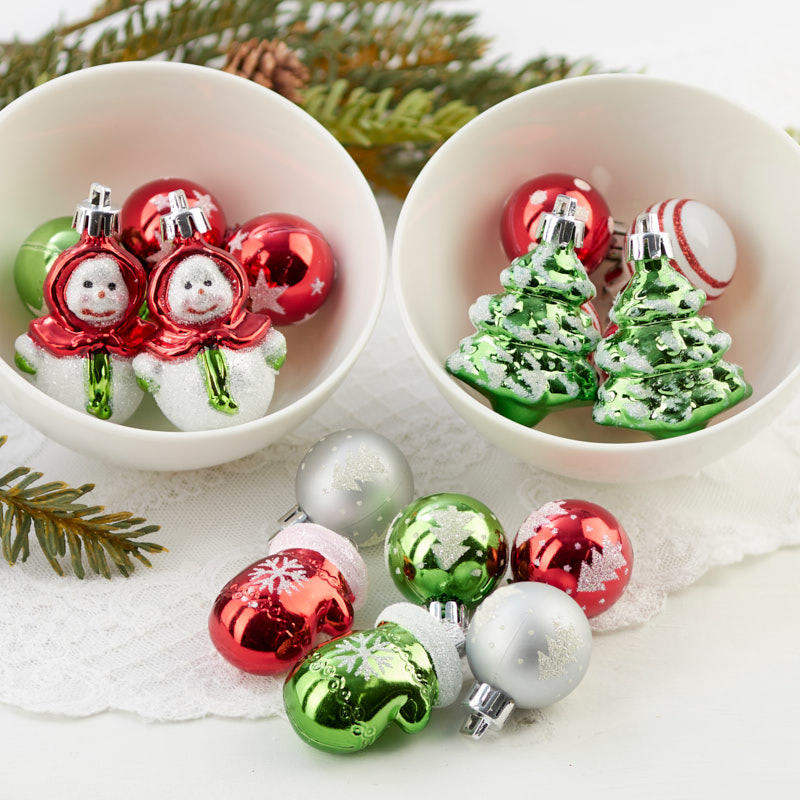 Miniature Christmas Ornaments.Miniature Christmas Ornaments