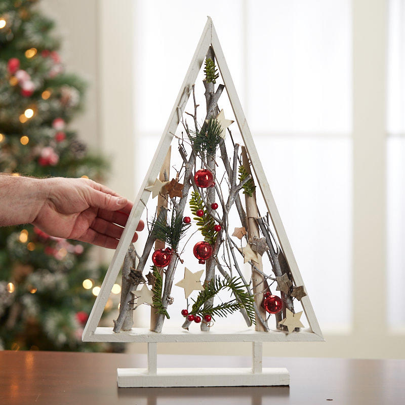 Framed Decorative Table Tree With Branches