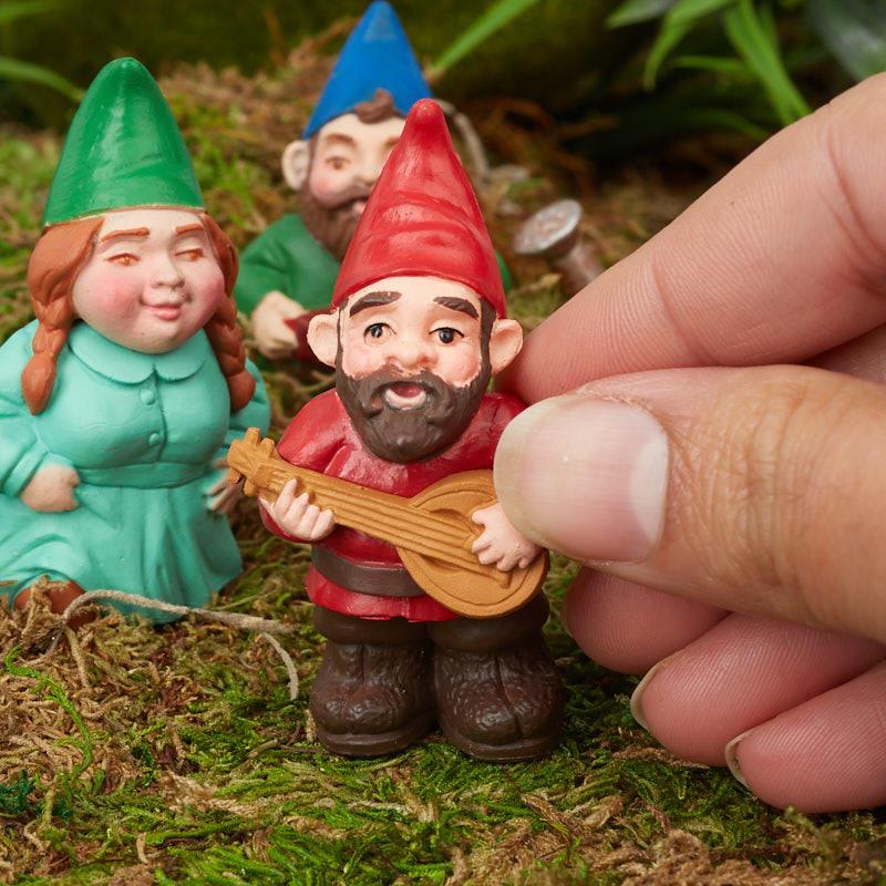 Gnome Garden: Miniature Garden Gnome Family