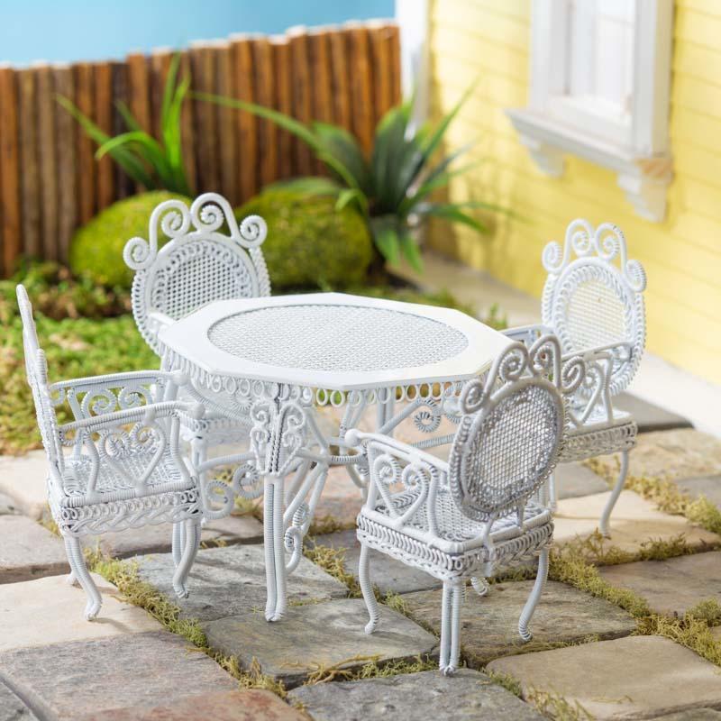 Strange Miniature White Tea Table Set Download Free Architecture Designs Scobabritishbridgeorg