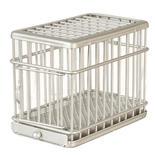 Miniature Galvanized Dog Cage