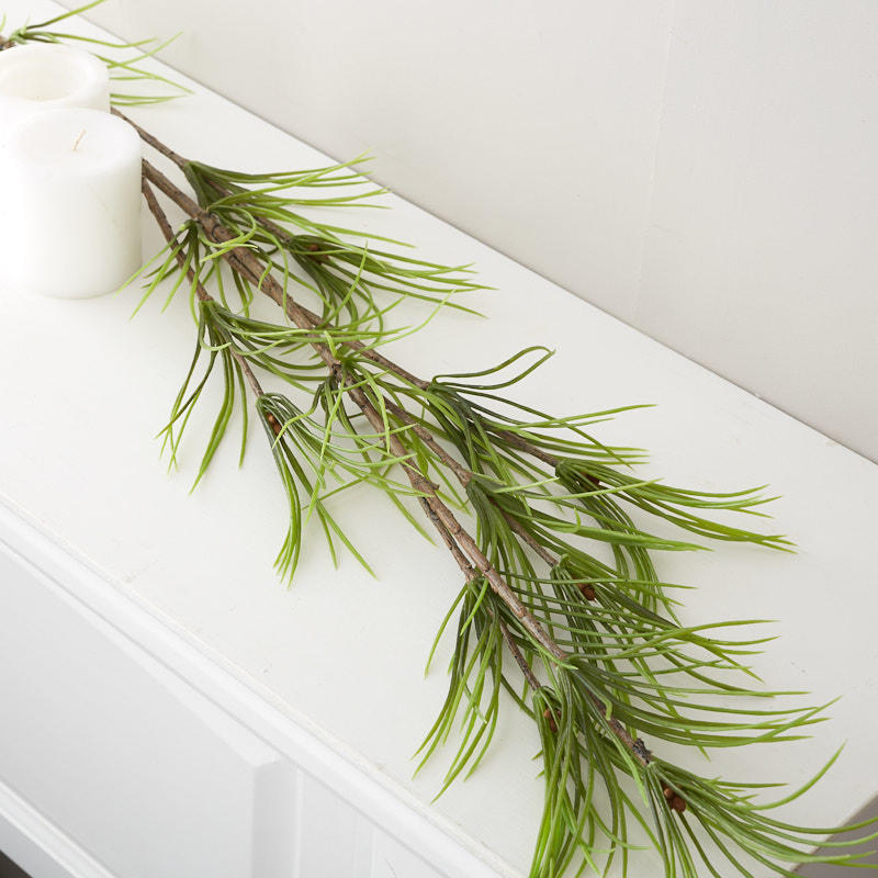 Artificial Eastern White Pine Branch Stems Branches Floral Supplies Craft Supplies Factory Direct Craft