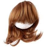 Antina's Strawberry Blonde Modern Girl Page Boy Doll Wig
