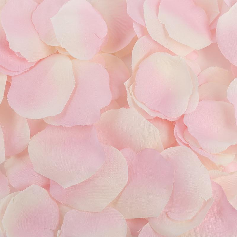 Pink Silk Rose Petals new