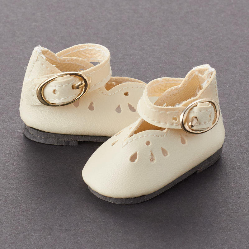 c690288a2fd0c Tallina's Bone Dressy Style Doll Shoes - Doll Shoes, Socks and ...