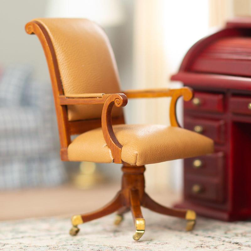 Dollhouse Miniature George H W Bush Oval Office Chair Library Miniatures Dollhouse Miniatures Doll Supplies Craft Supplies Factory Direct Craft