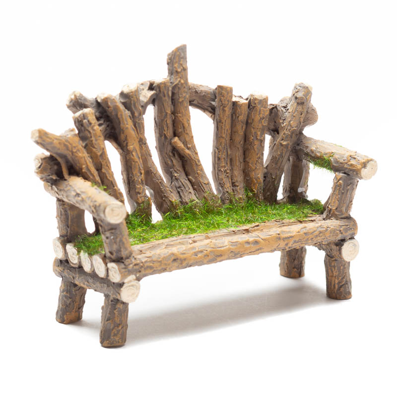 Swell Miniature Fairy Garden Twig Bench Ibusinesslaw Wood Chair Design Ideas Ibusinesslaworg