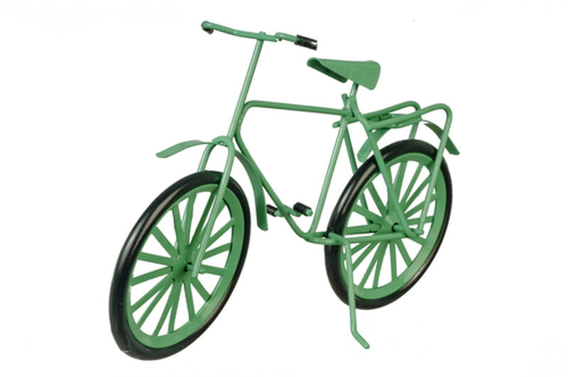 Miniature Large Green Bicycle