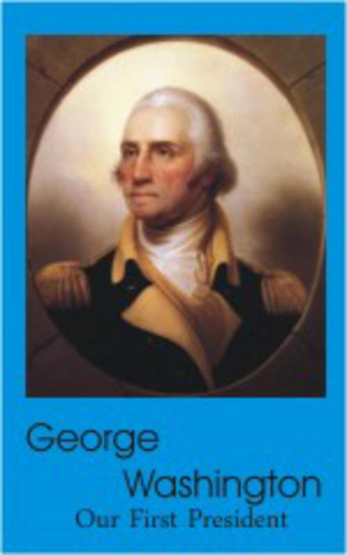 George Washington  Miniature Dollhouse Picture