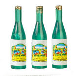 Dollhouse Miniature Wine Bottles