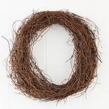 Natural Angel Hair Vine Wreath