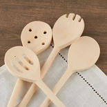 Wood Kitchen Spoons