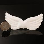 Bulk Iridescent White Puffy Angel Wings - True Vintage