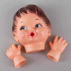 Baby Doll Face And Hands Set True Vintage What S New