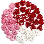 Dress It Up Love Potion Heart Buttons