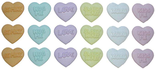 Dress It Up Candy Kisses Heart Buttons