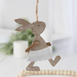 Hanging Brown Bunny