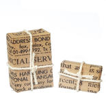 Set of Miniature Parcel Post Packages