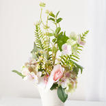 Light Pink and Lavender Artificial Hydrangea Bouquet