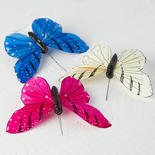 Assorted Artificial Butterflies