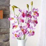 Artificial Lavender Cymbidium Orchid Stems