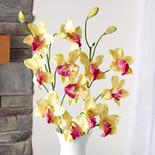Artificial Green Cymbidium Orchid Stems