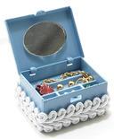 Dollhouse Miniature Filled Jewelry Box