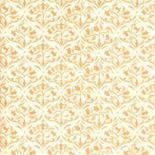 Dollhouse Miniature- Wallpaper Sheets, Tulip Arabesque, Ivory
