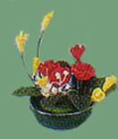 Dollhouse Miniature Flower Arrangement