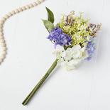 Artificial Hydrangea Berry Bouquet