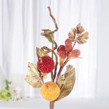 Holiday Artificial Beaded Fruit Pick
