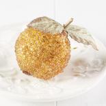 Beaded Artificial Pomegranate Ornament