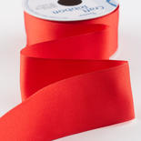 """1-1/2"""" Red Satin Wired Ribbon"""