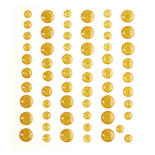 Gold Dot Bling Stickers
