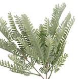 Artificial Frosted Fern Pick