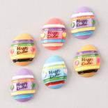 Miniature Flat Back Happy Easter Eggs